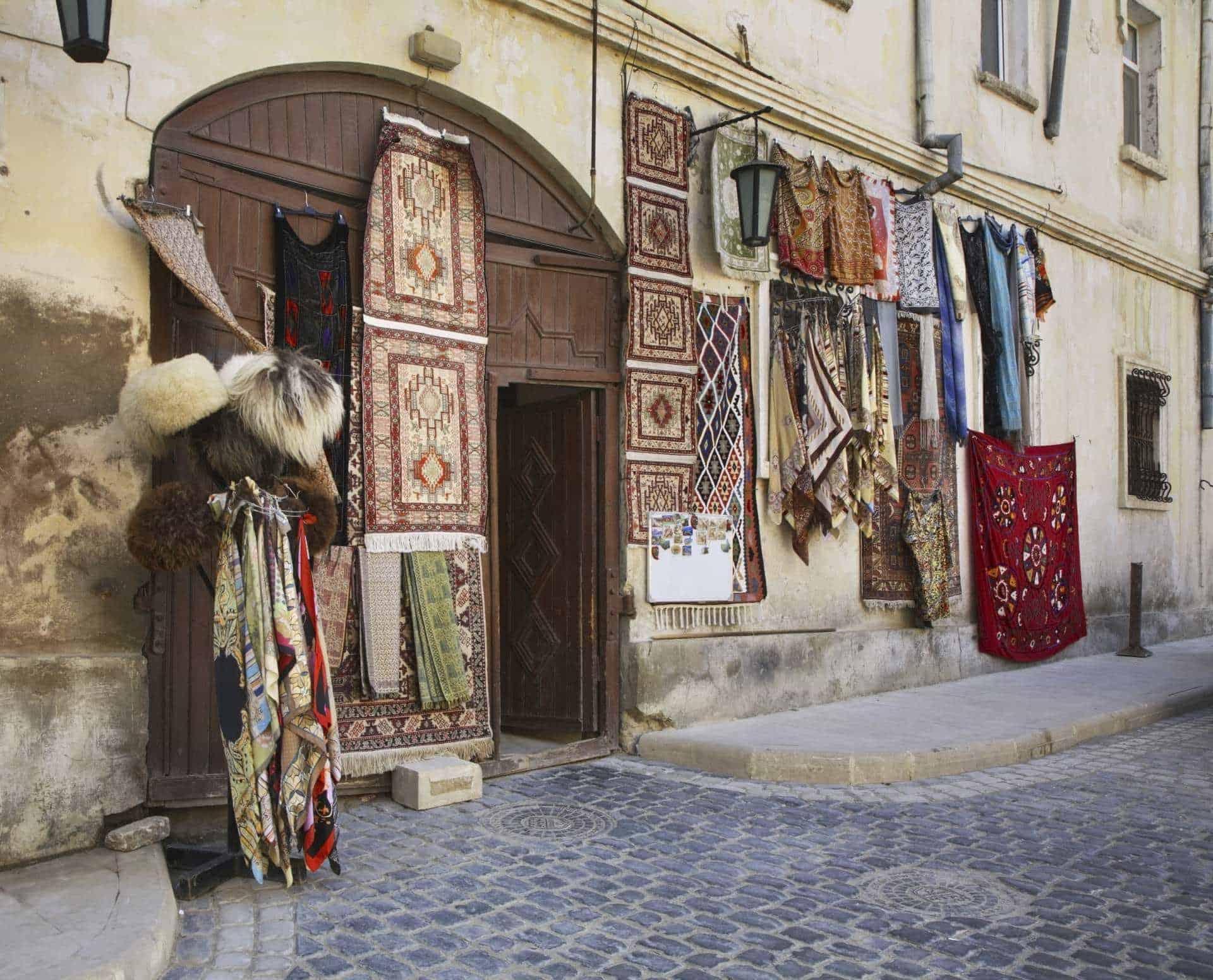 Old town, baku, azerbaijan, caucasus