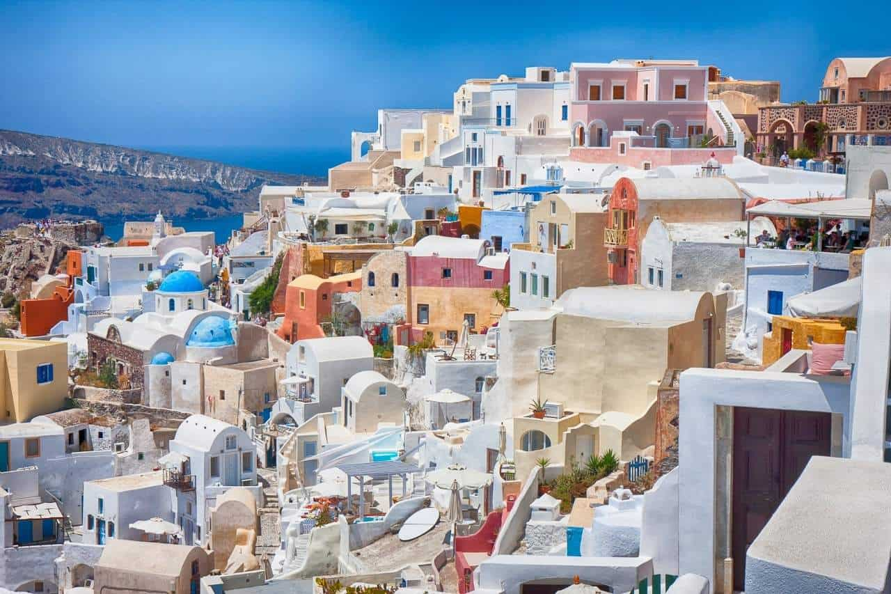 Santorini - Eastern Mediterranean Islands