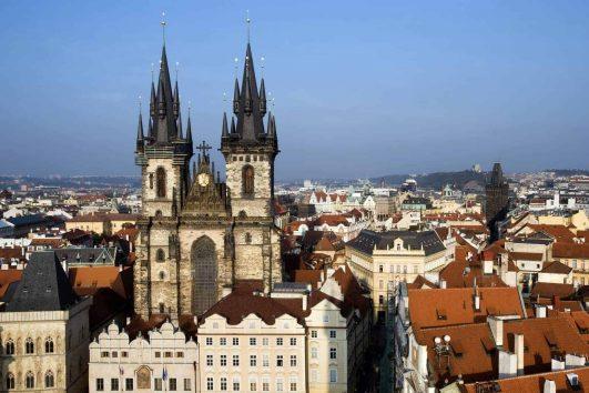 Prague Church Old Town
