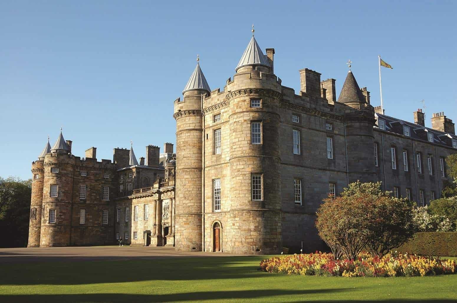 Palace of Holyroodhouse Scotland