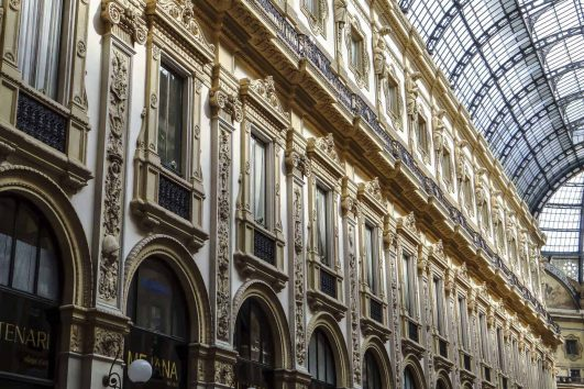 Milan, Galleria Umberto Italy