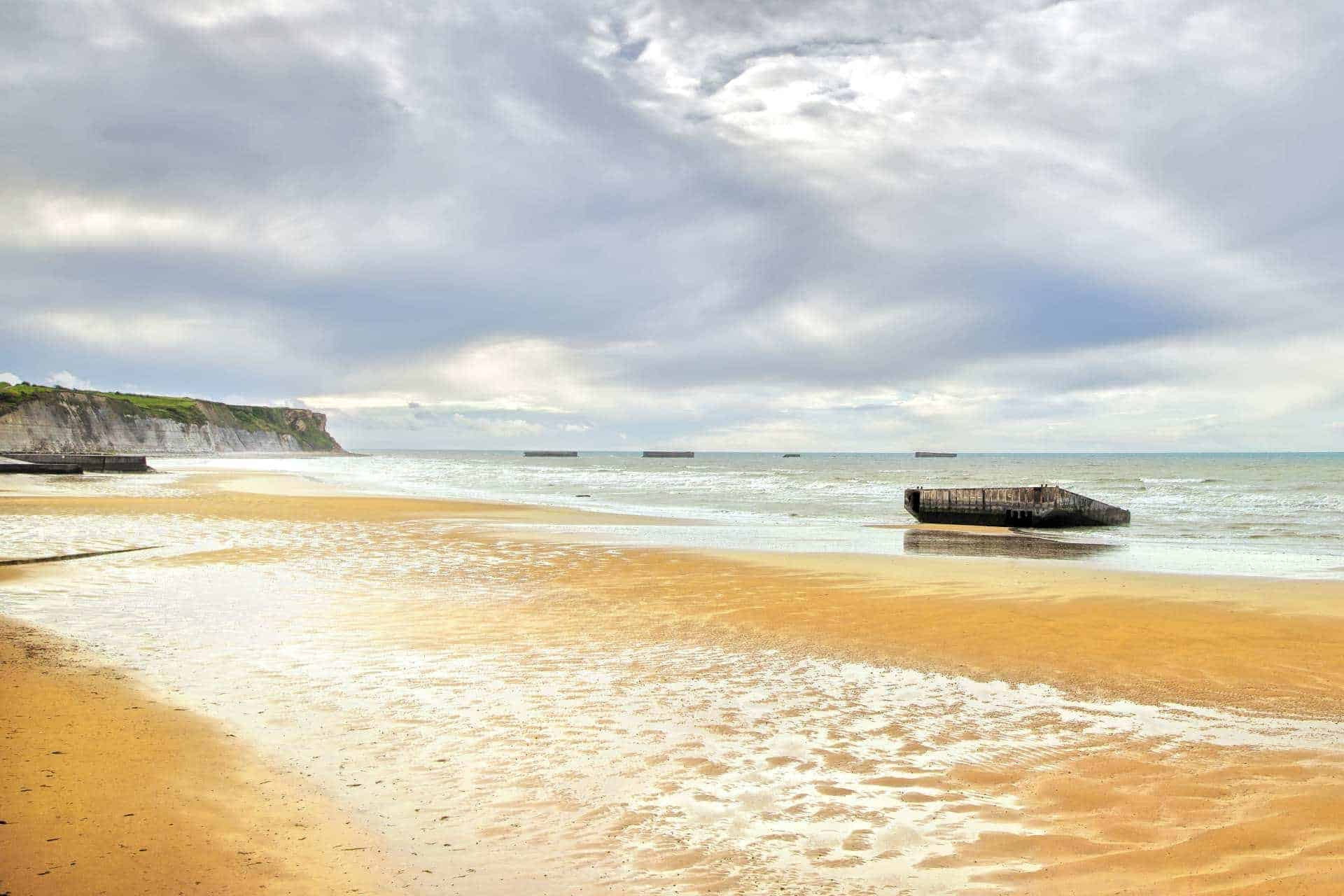 Arromanches les Bains, Normandy, France.