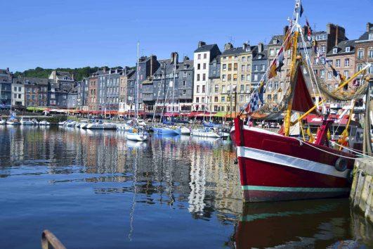 Honfleur-France-Boats