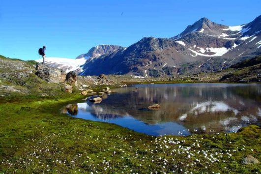 Greenland valley
