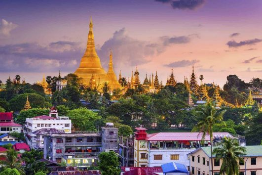 Myanmar places of interest