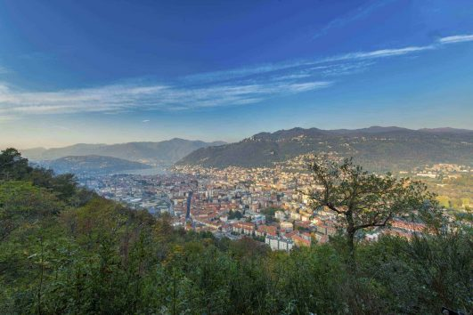 The city of Como, Italy