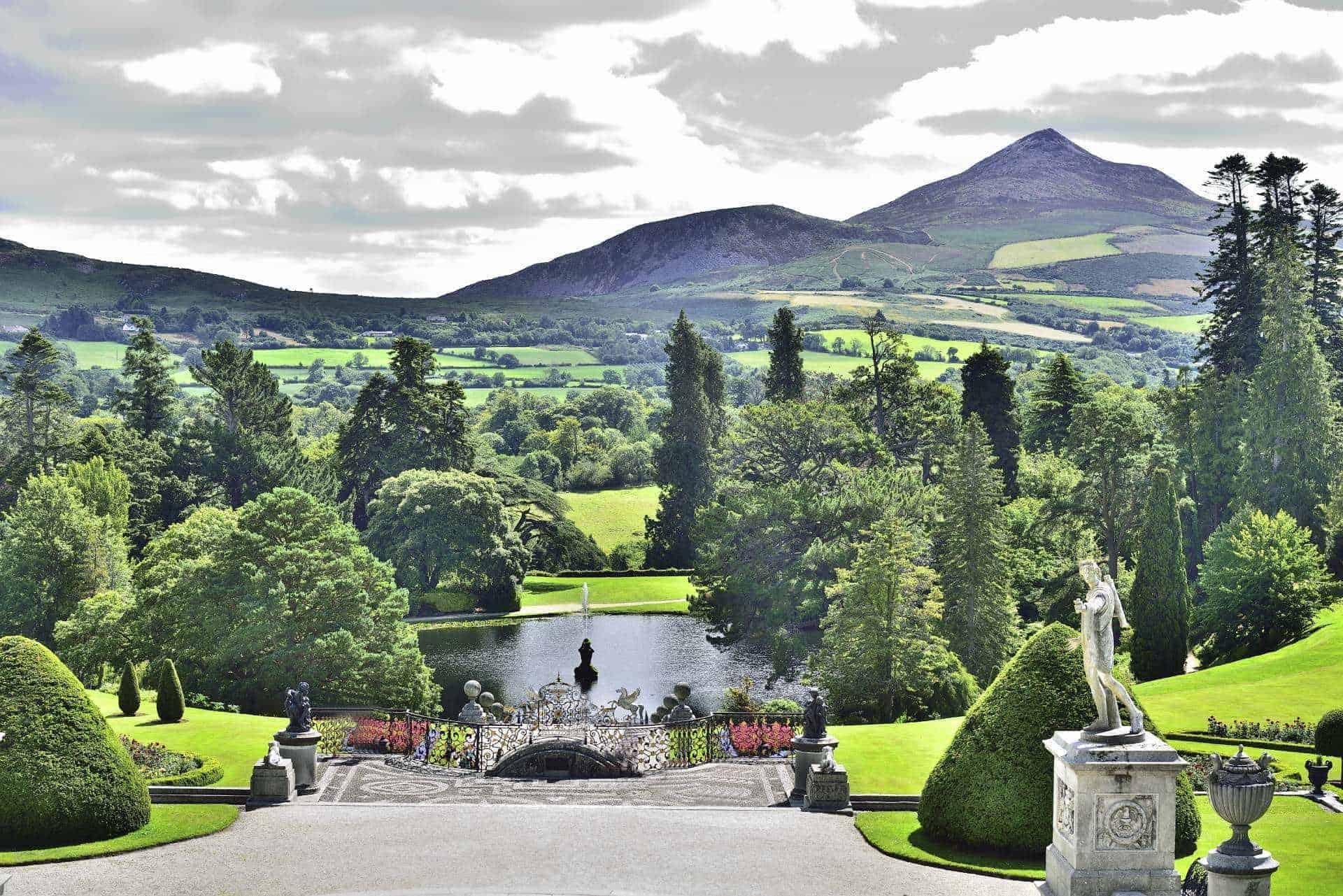 Powerscourt Estate Sugar Loaf Mountain Wicklow Ireland