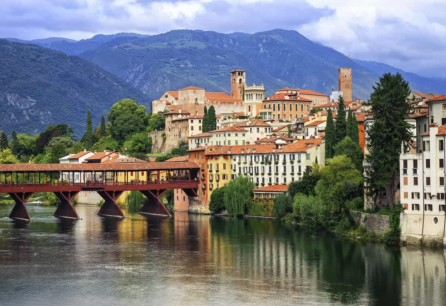 Italian Small Group Tours Bassano del Grapa Italy Veneto