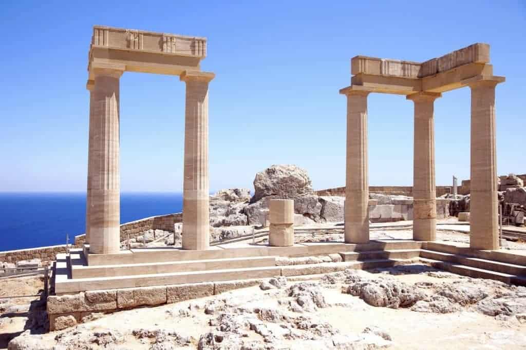 Rhodes island. Greece