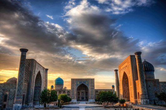 The Registran in Samarkand, Uzbekistan
