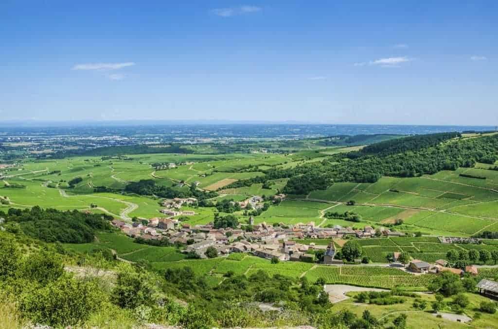 Solutre-Pouilly, Burgundy, France