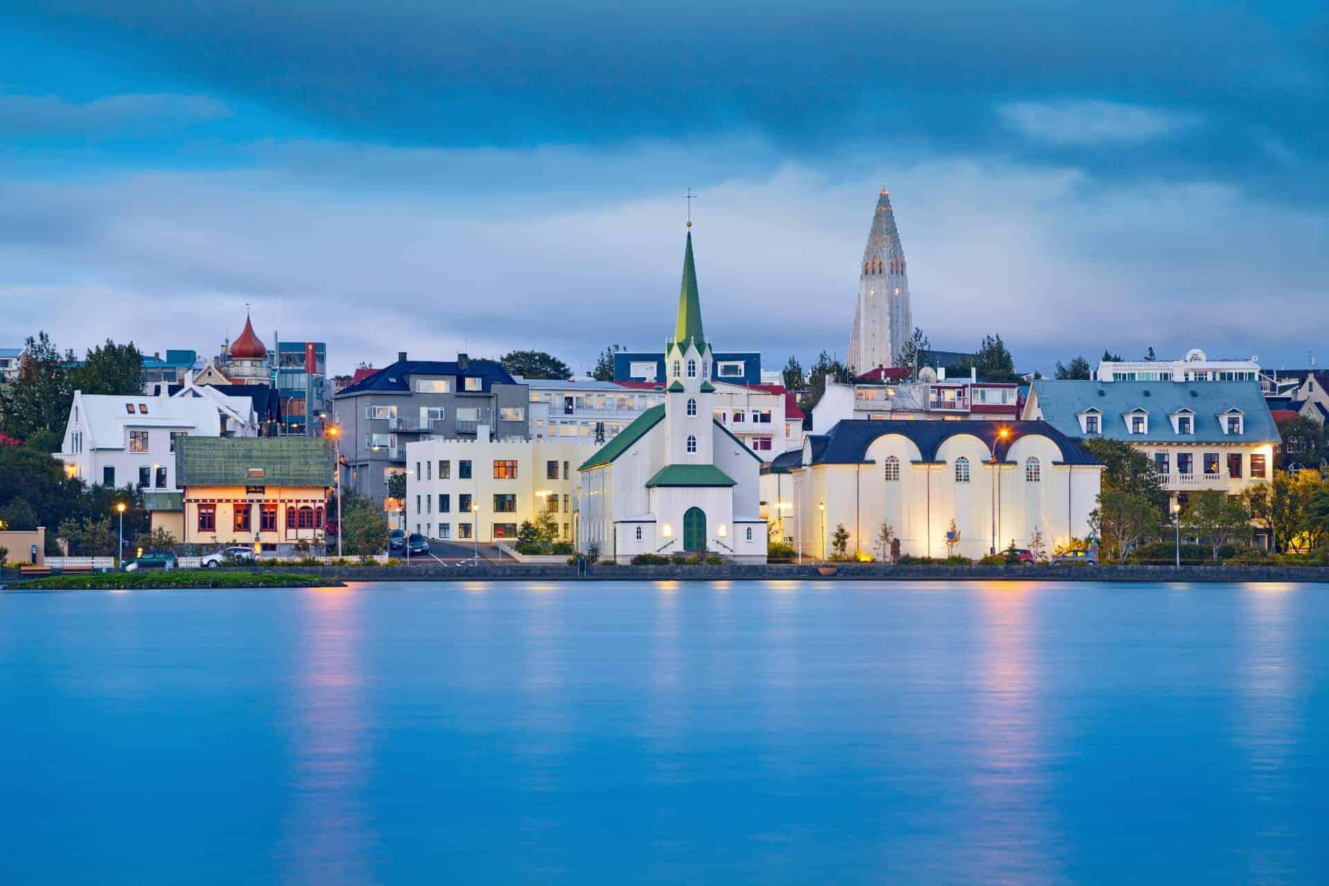 Reykjavik Iceland church