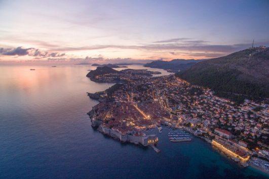 Dubrovnik, Croatia, Dalmatian coast