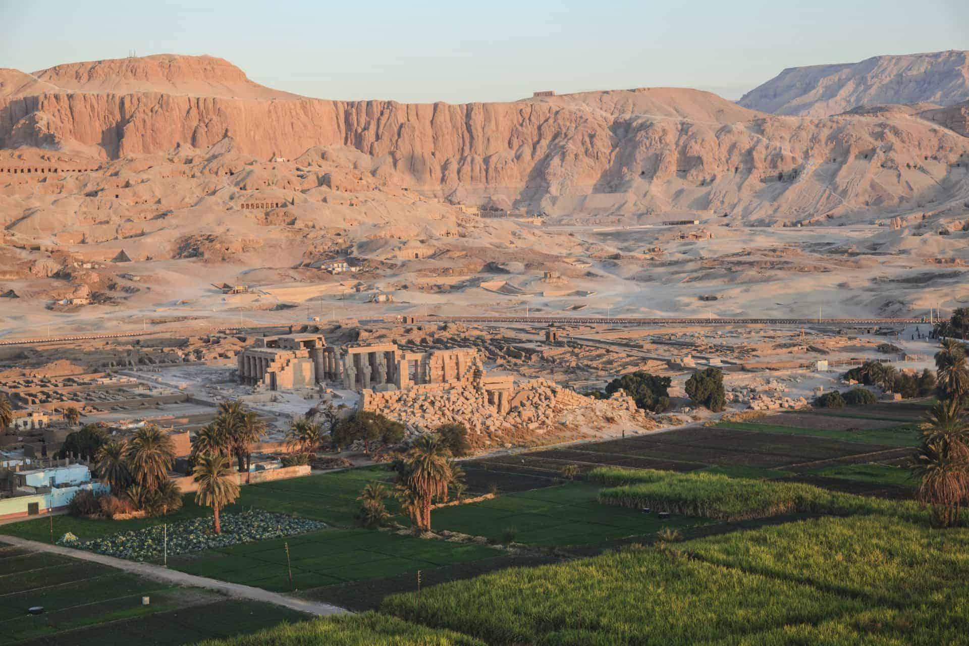 Egypt Kings Valley Ruins