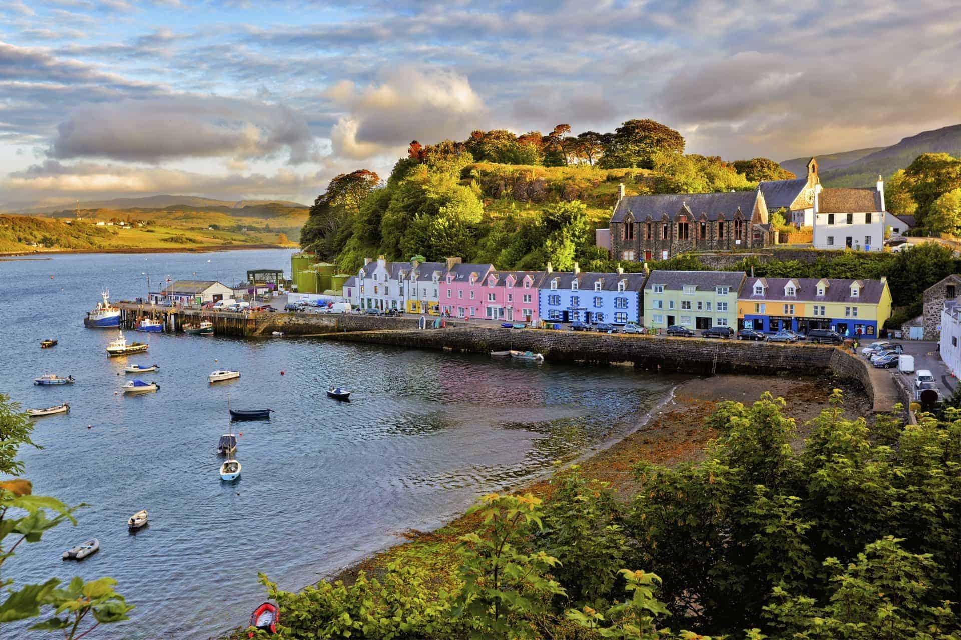 Scottish Islands -Portree, Isle of Skye
