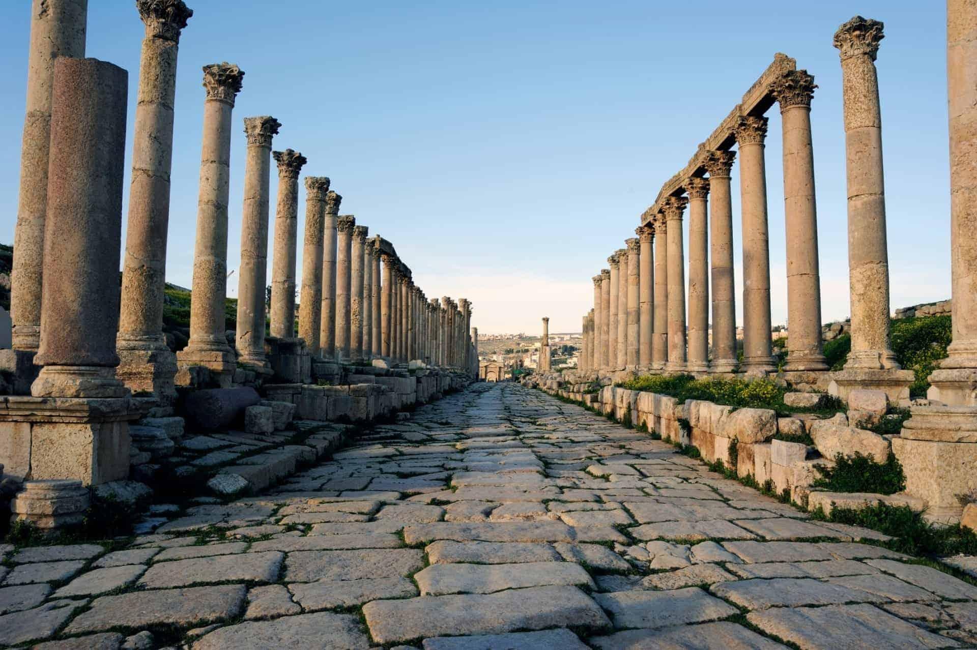 Cardo Maximus in Jerash, Jordan