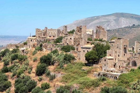 The Mani Region, Peloponnese, Greece