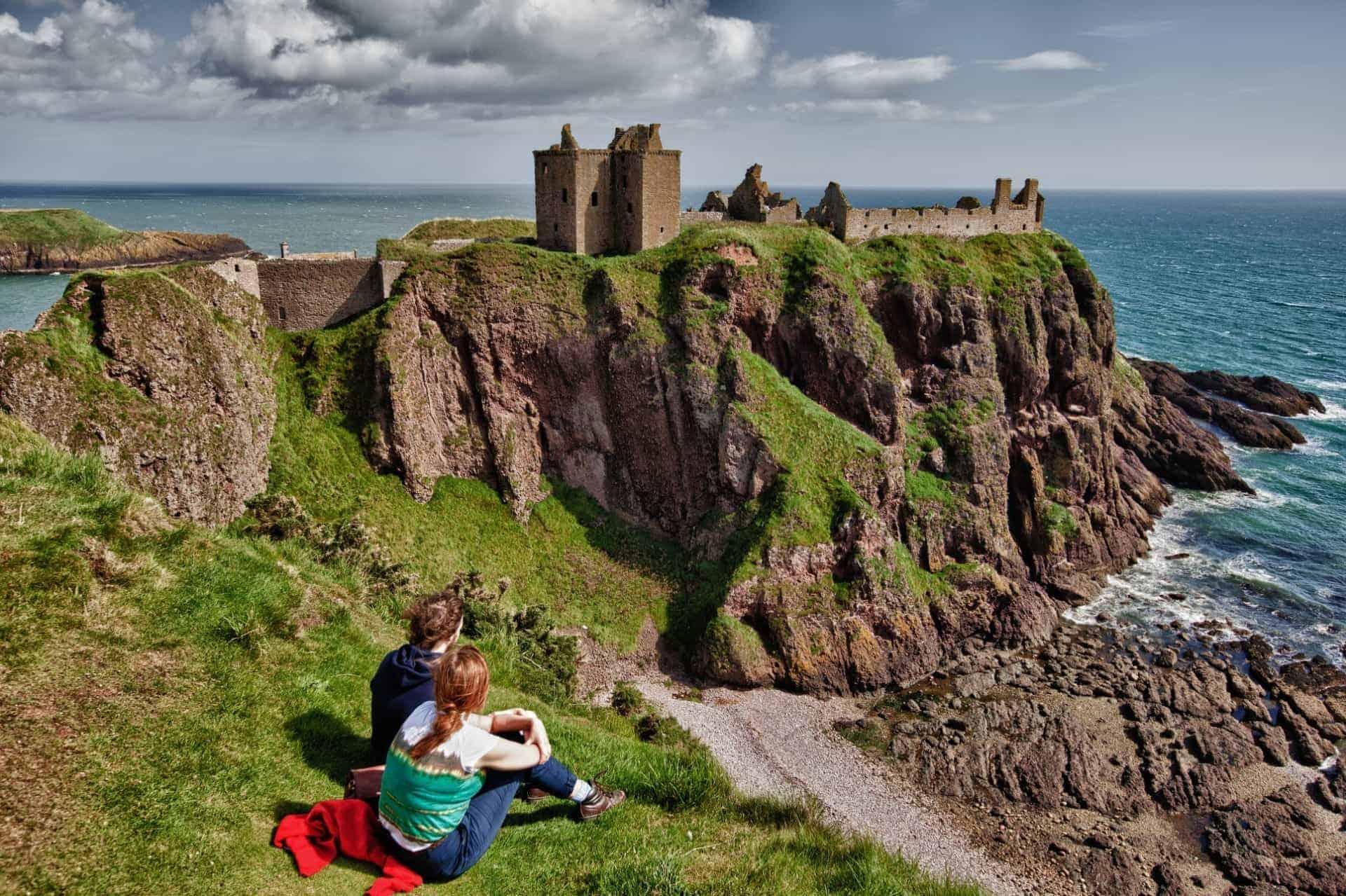 Dunnottar Castle, Aberdeen - Scotland