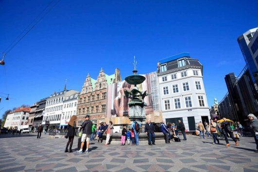 Stroget (Strøget), Copenhagen Denmark