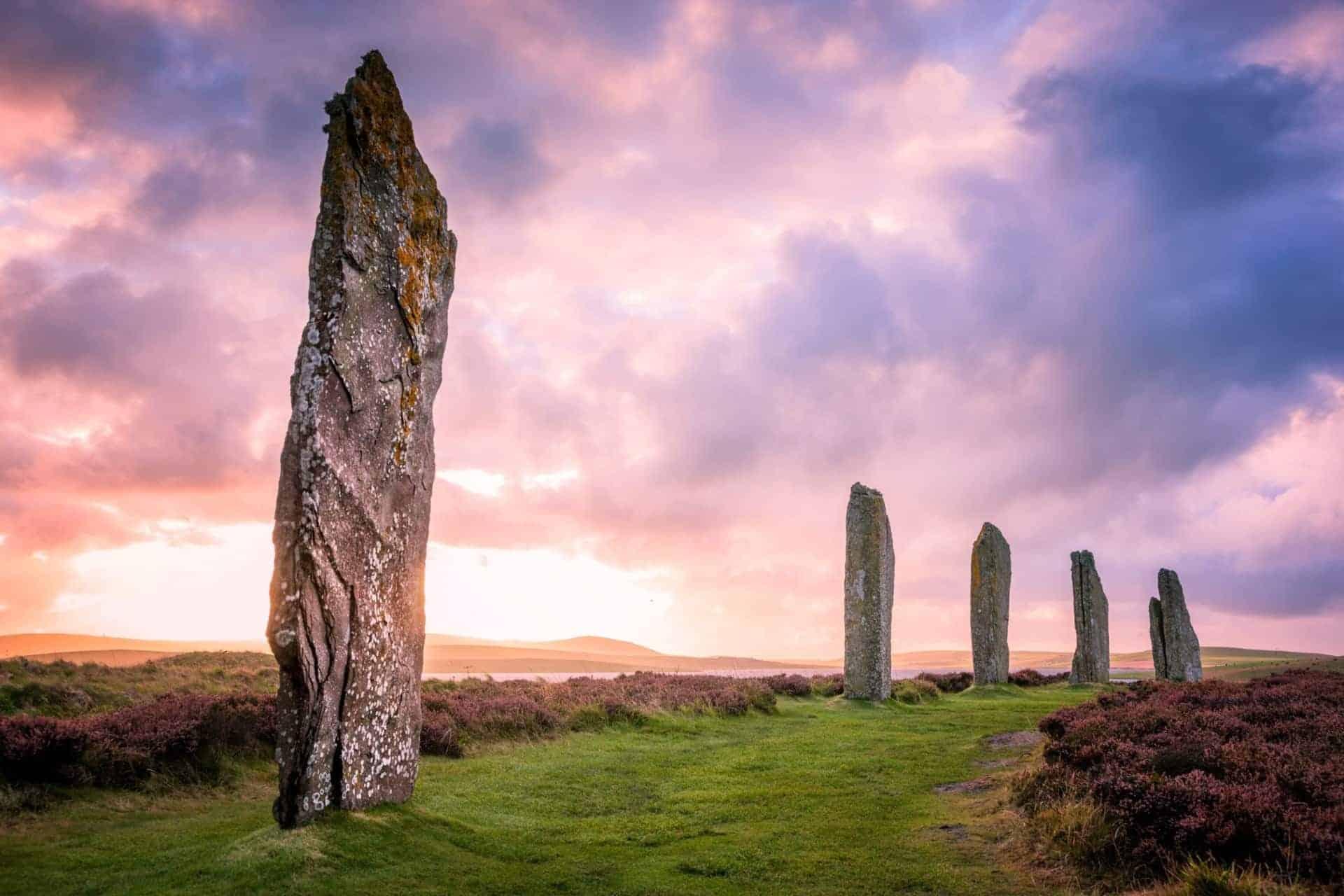 Ring Of Brodgar, Orkney Islands, Scotland