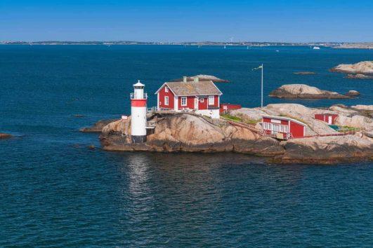 Gothenburg lighthouse Sweden