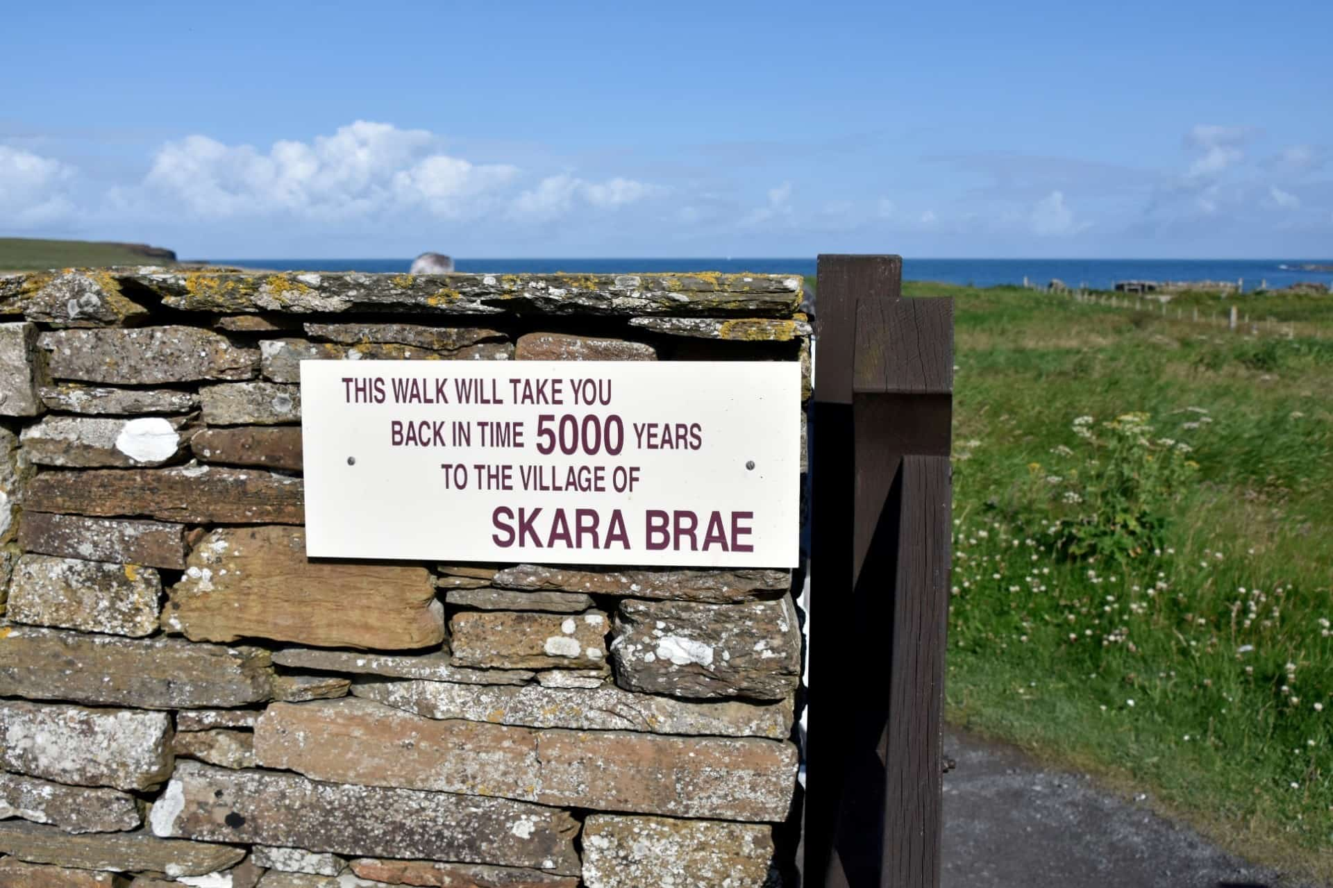 Skara Brae at Ring of Brodgar, Kirkwall, Scotland