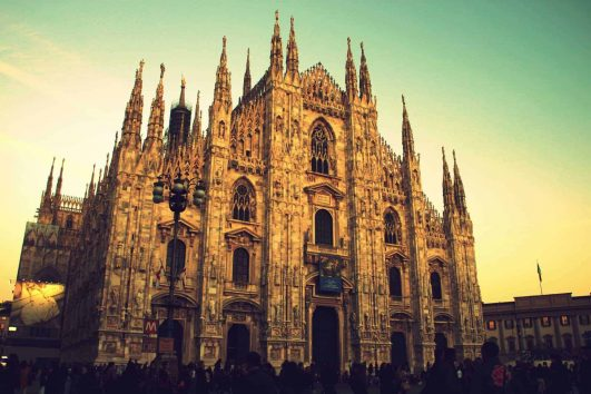 Milan, Doumo Cathedral