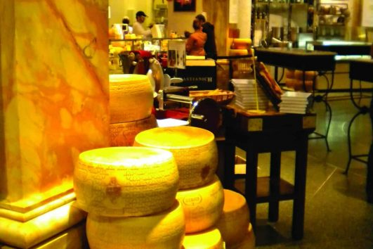 Cheese in Parma