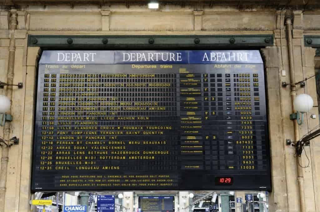 French history by rail