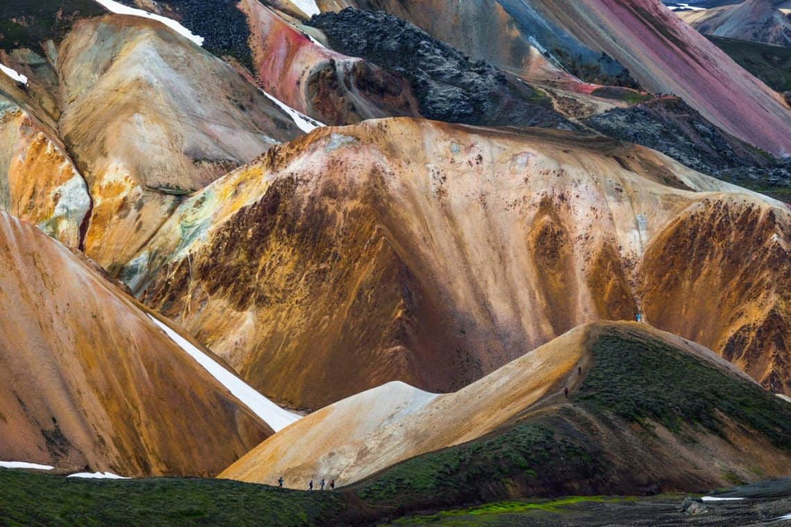 Lunar landscapes and geology in Iceland