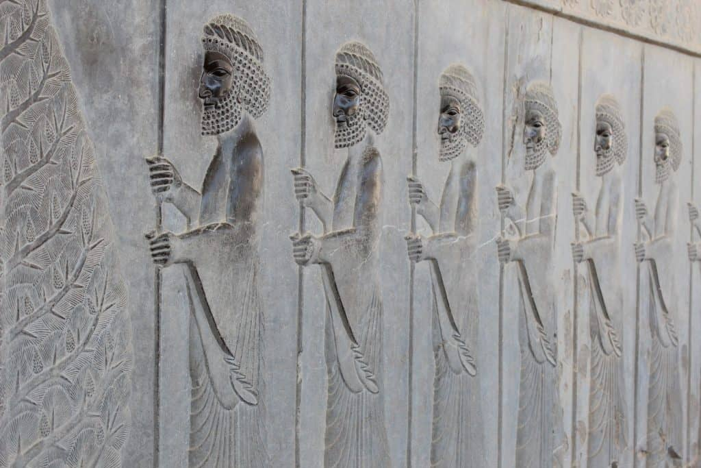 Tours of Iran, Persepolis Frieze