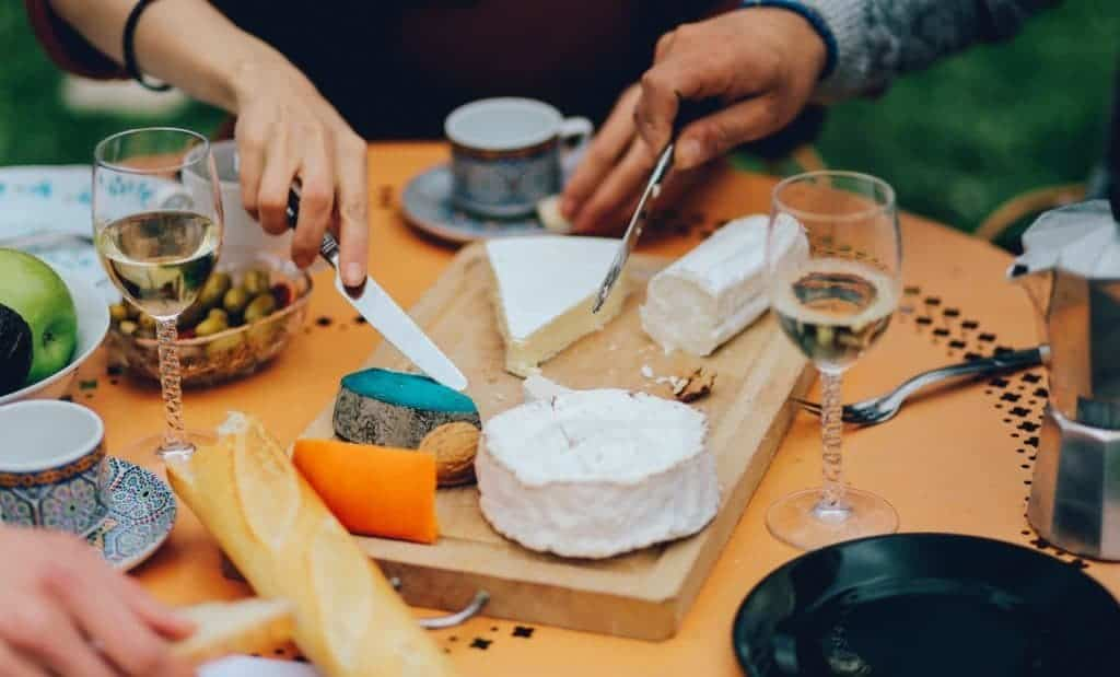 France wine and cheese