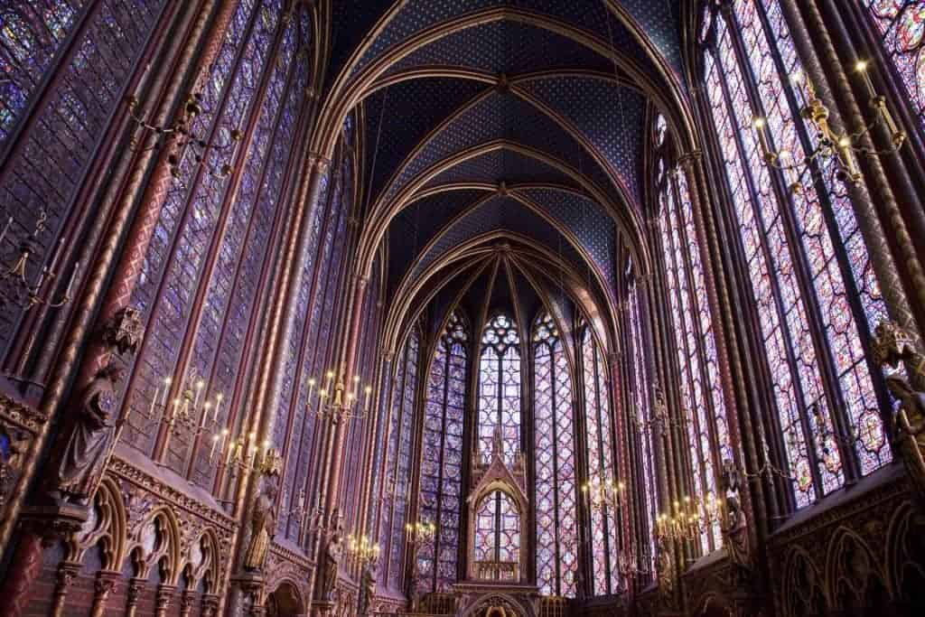 Cathedral interior, France