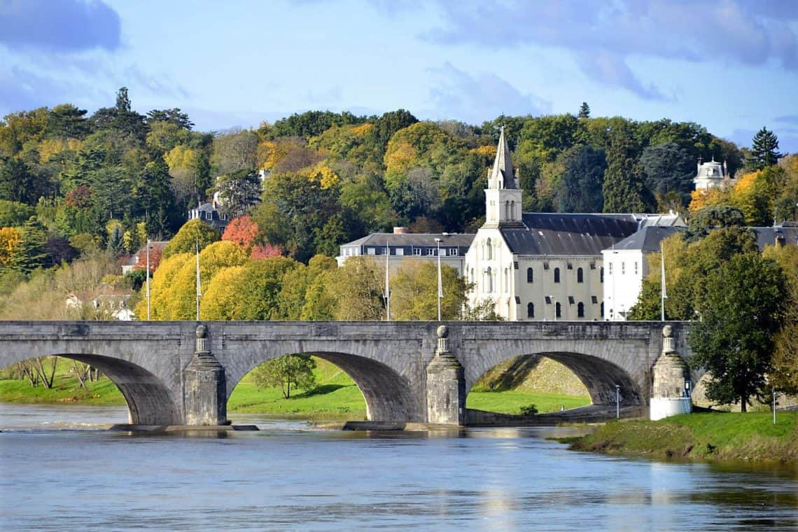 Loire Valley, Bridge in France