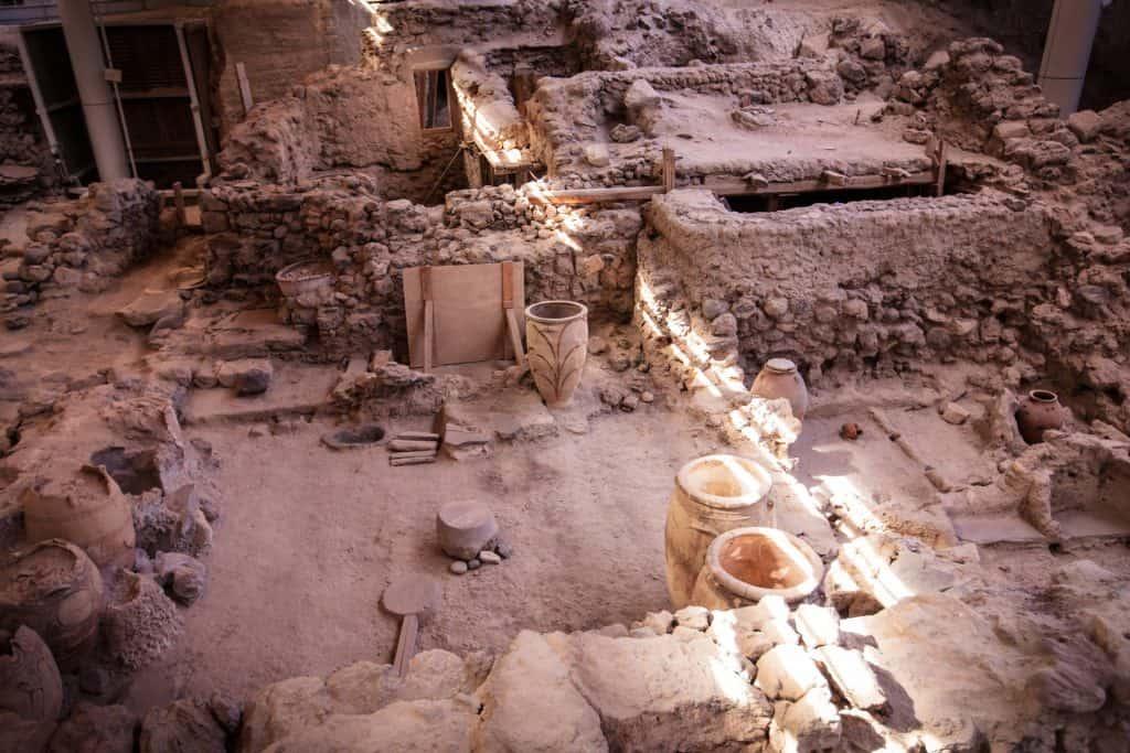 Ancient ruins, Greek Islands