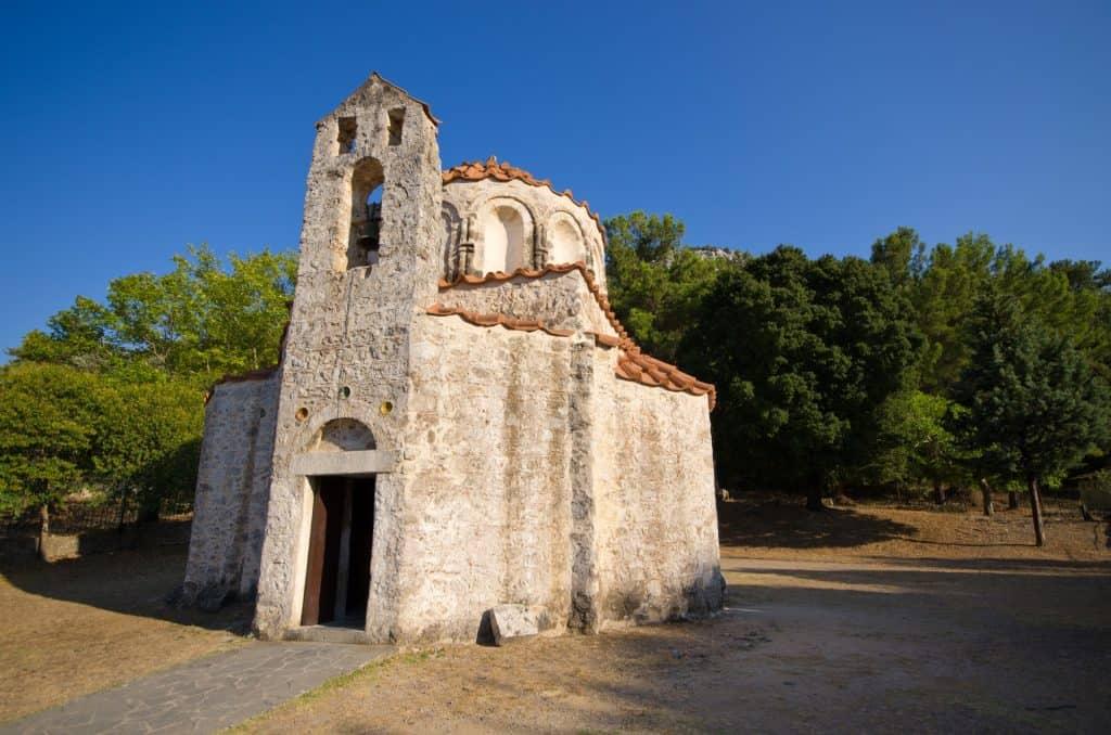 Byzantine monastery, Rhodes