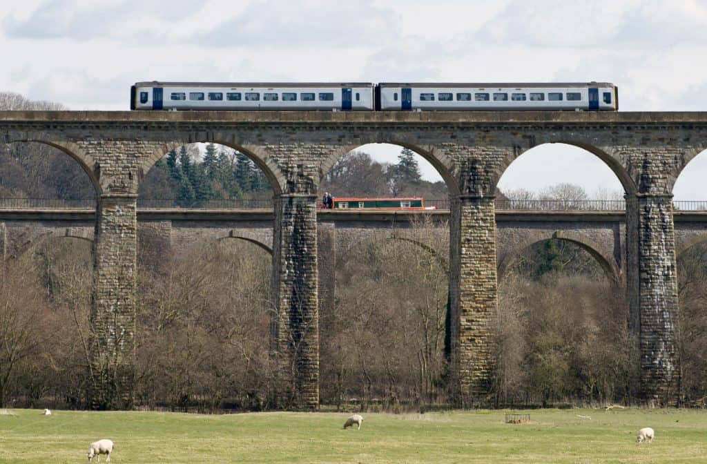 Britain canals and railways