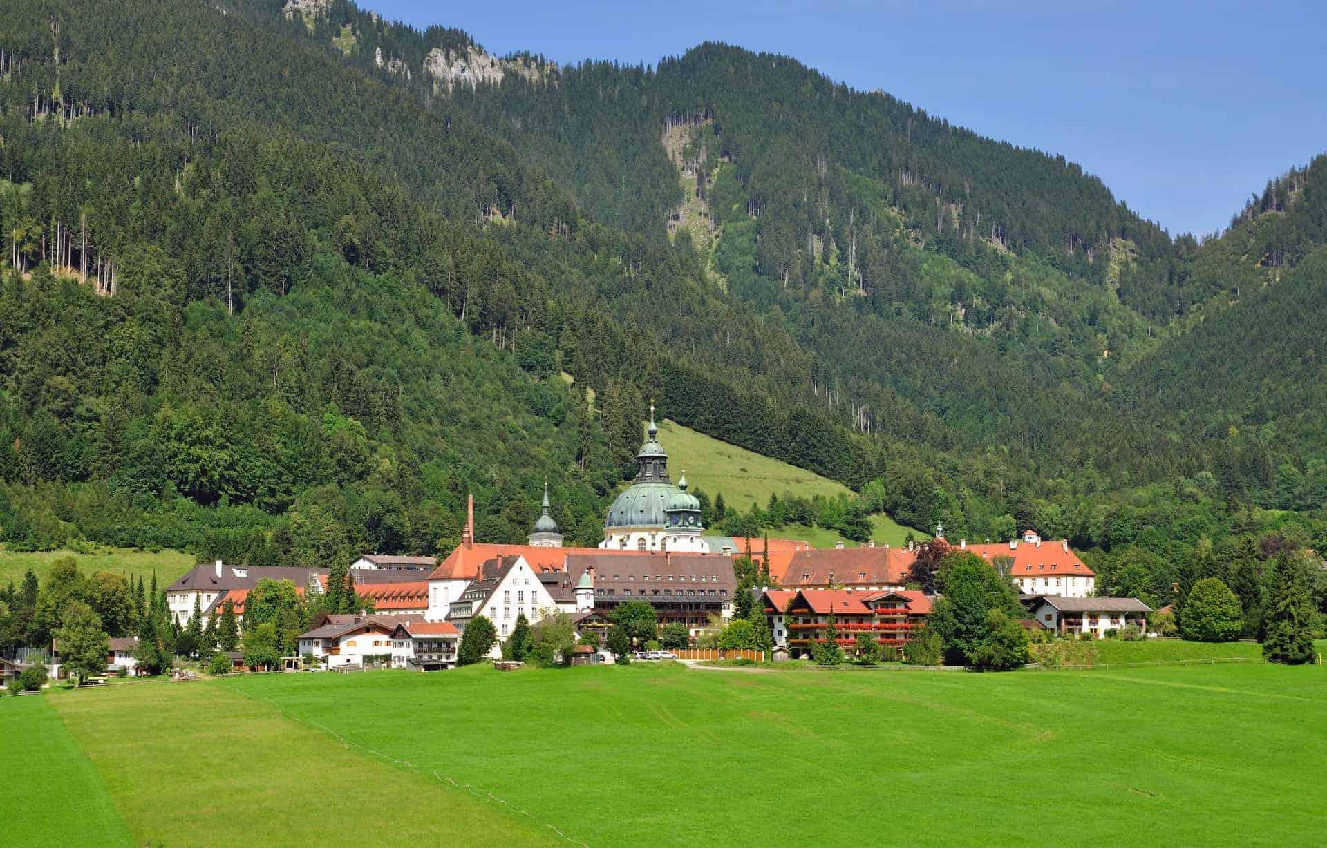 Ettal Monastery, near Oberammergau