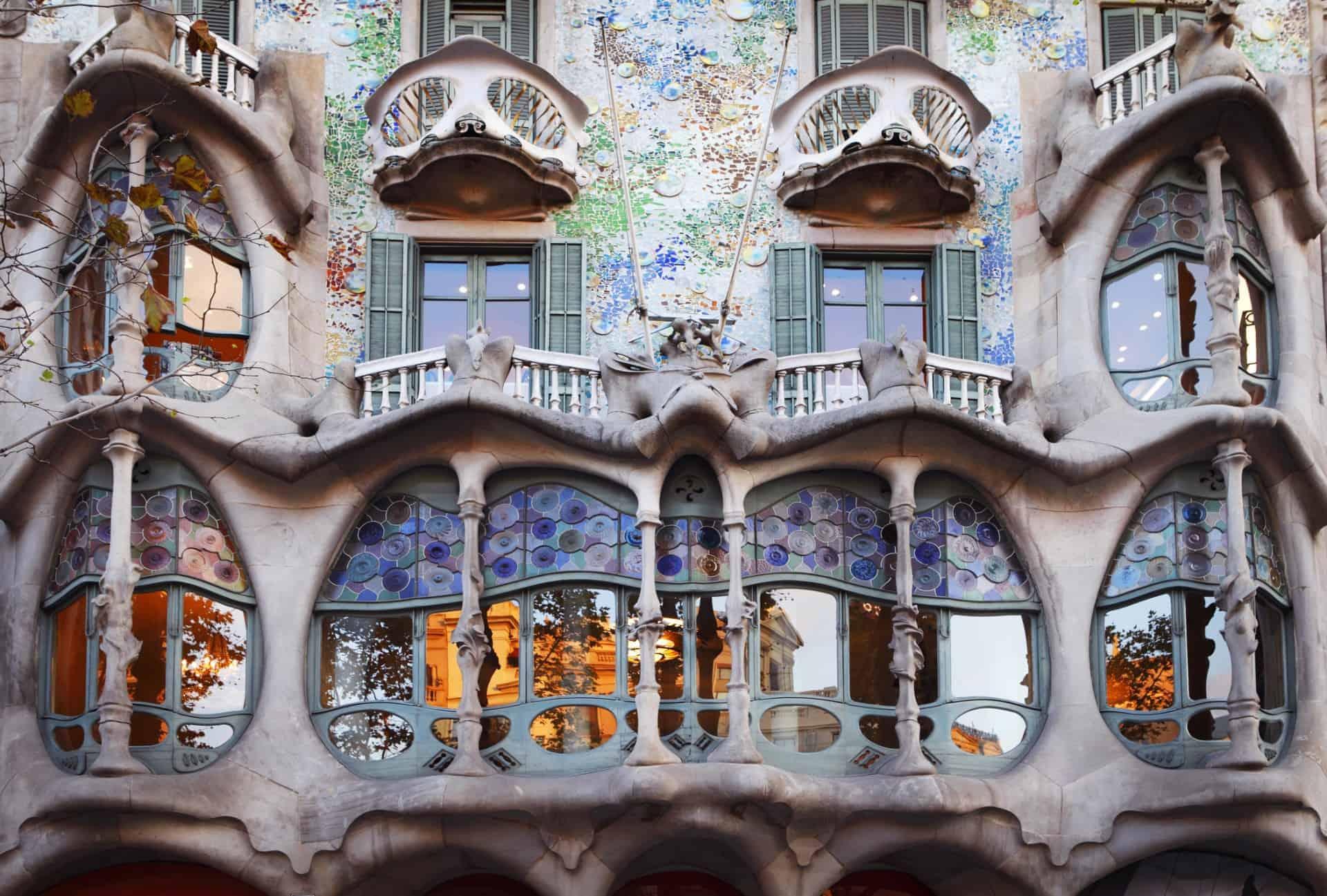 Casa Batllo, Antonio Gaudi, Barcelona