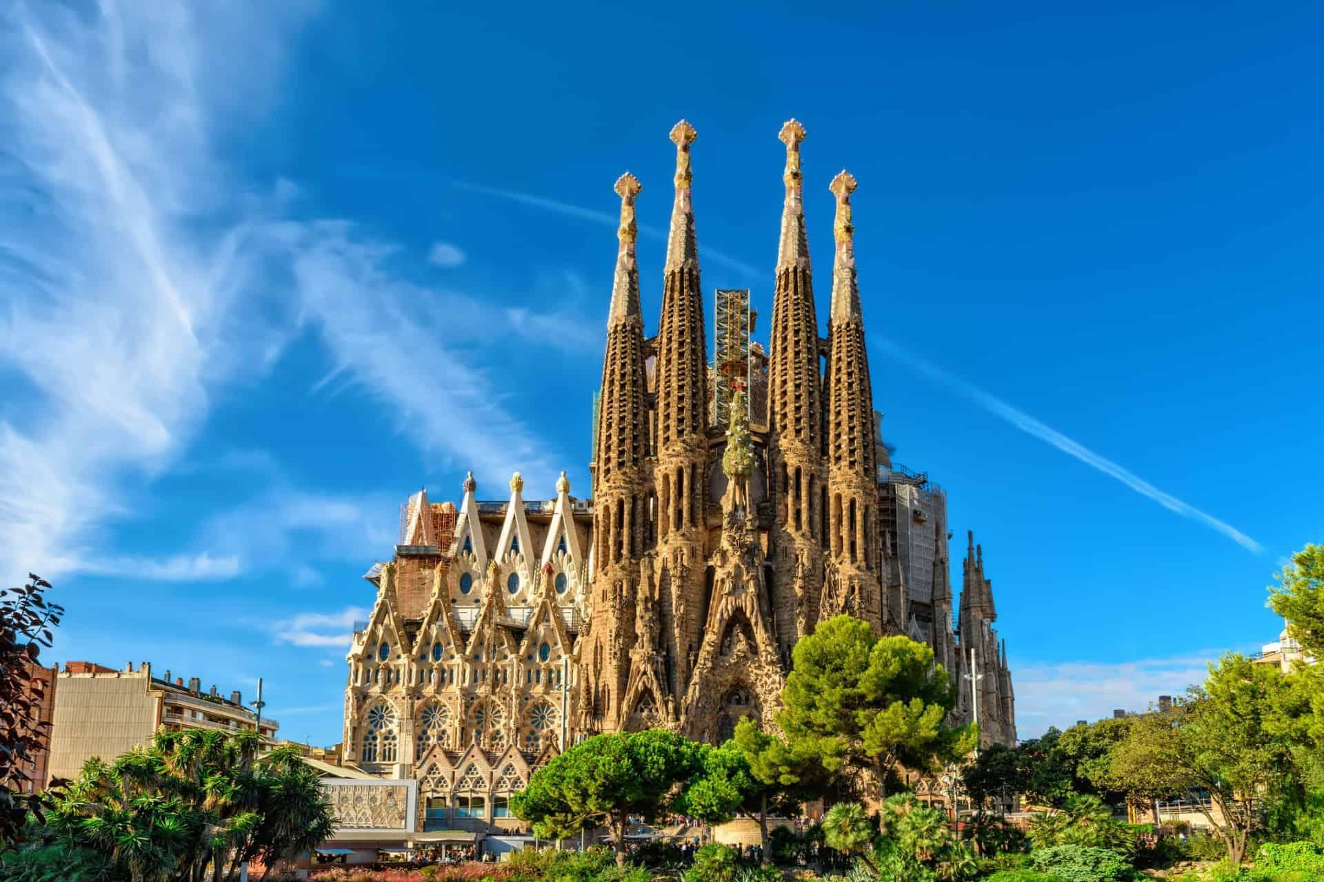 La Sagrada Familia Gaudi, Barcelona