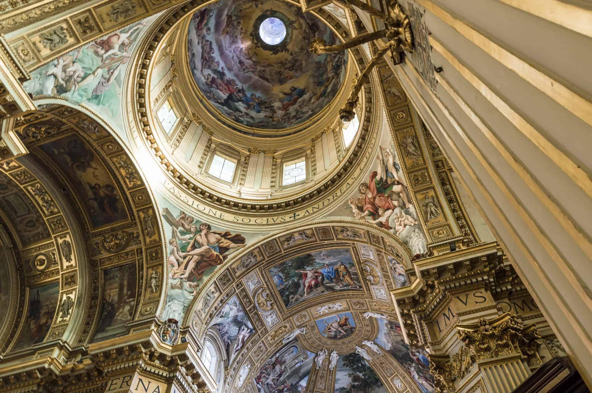 Interior of the Basilica of Sant Andrea della Valle