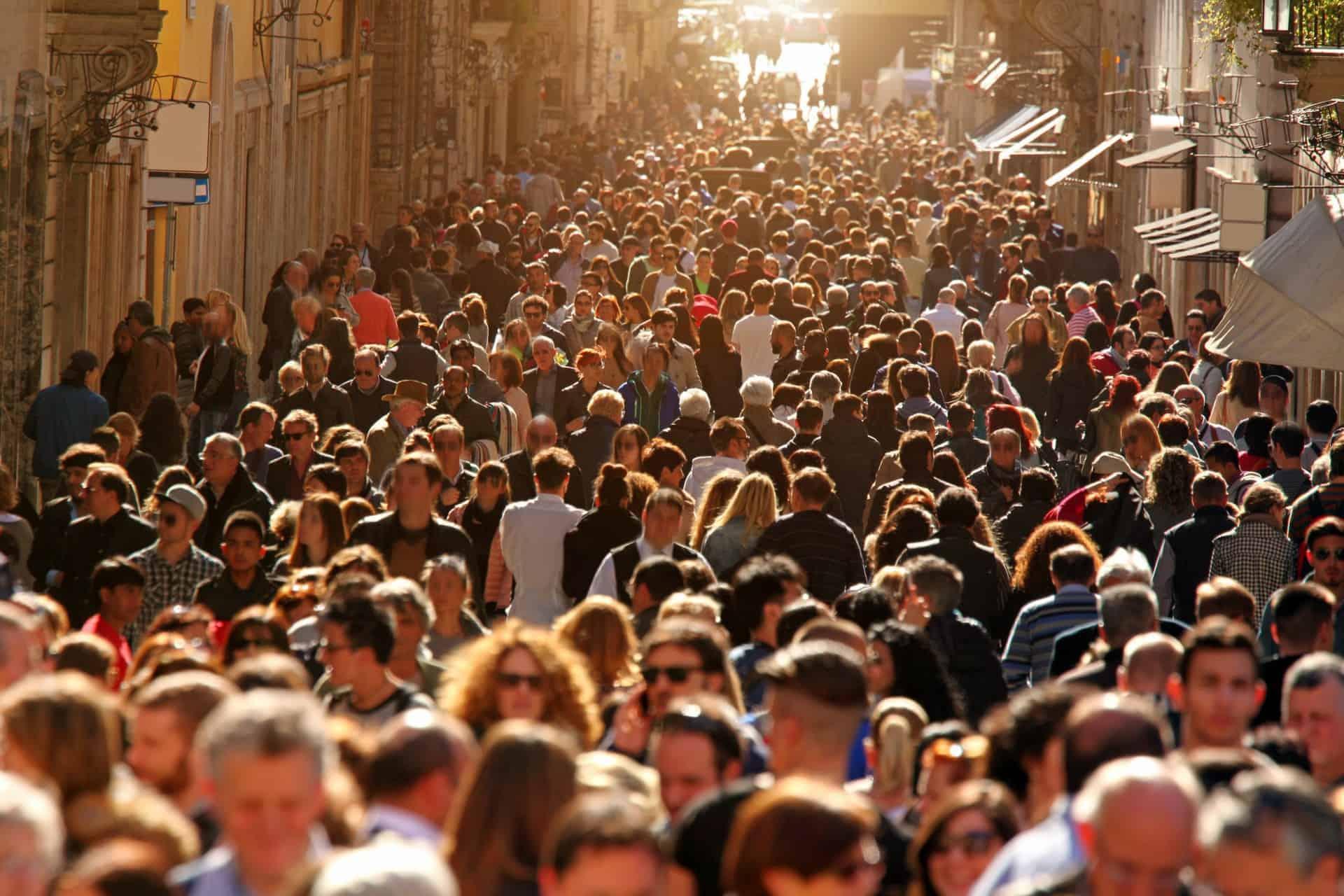 Overcrowding tourism