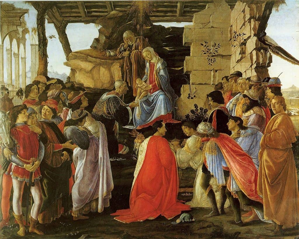 Botticelli's Adoration of the Magi