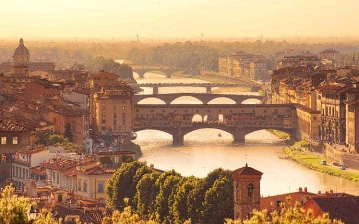 Florence and the River Arno