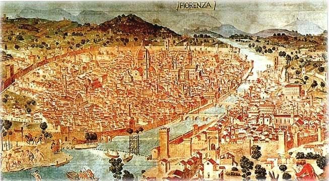 The City of Florence c1600