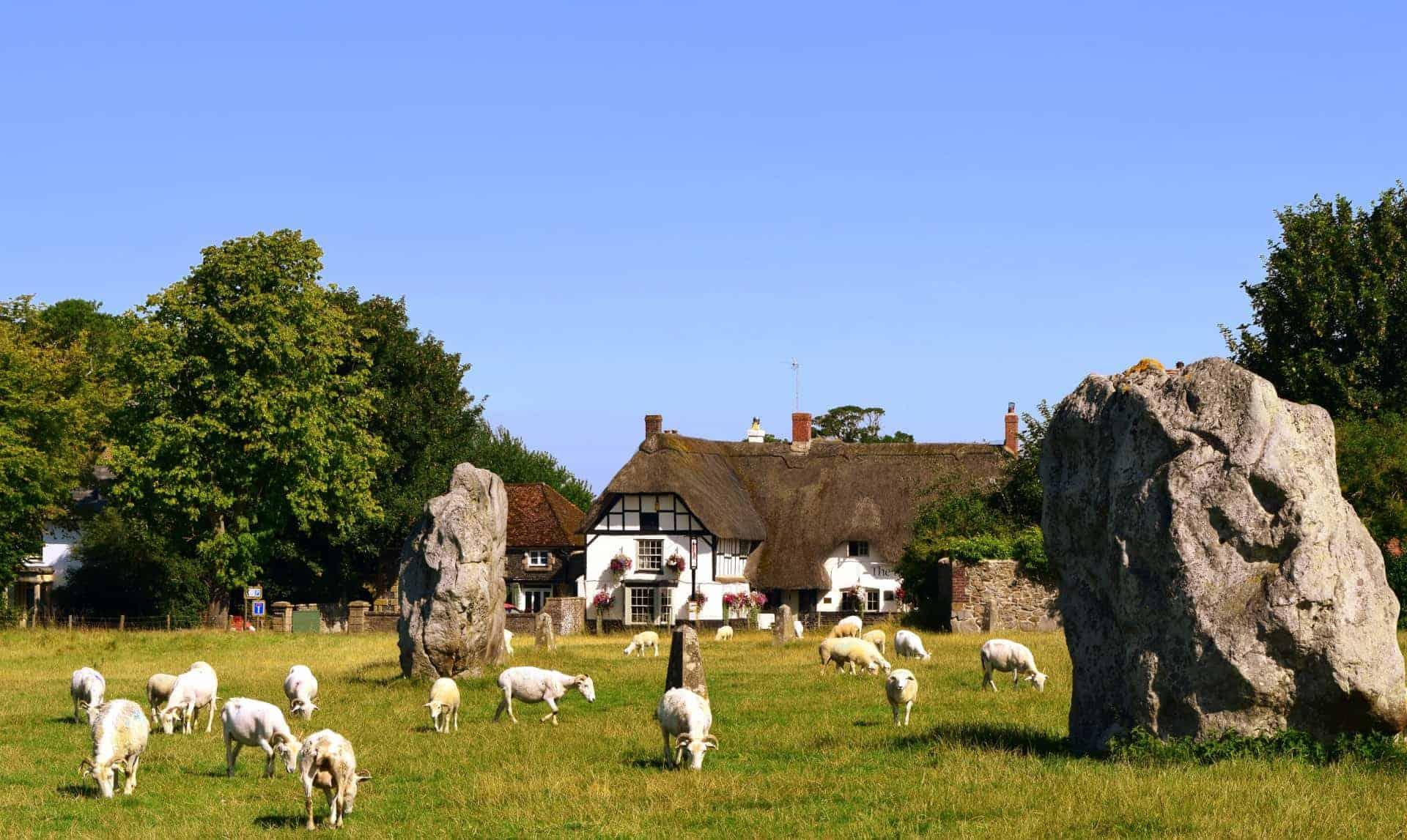 Avebury standing stones UK