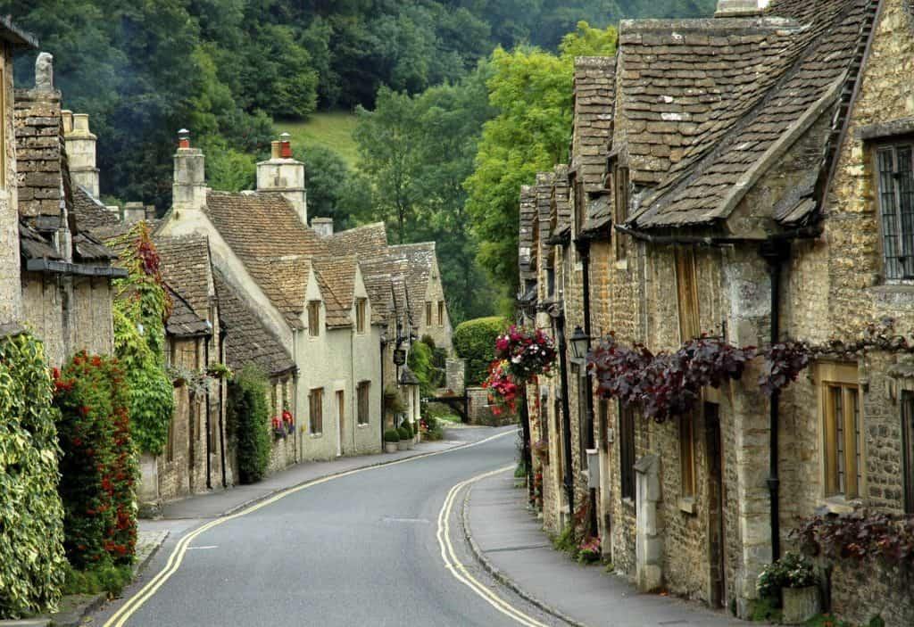 Castle Combe Road villages of england tour