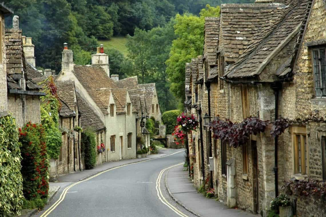 Castle Combe Road villages of england tour