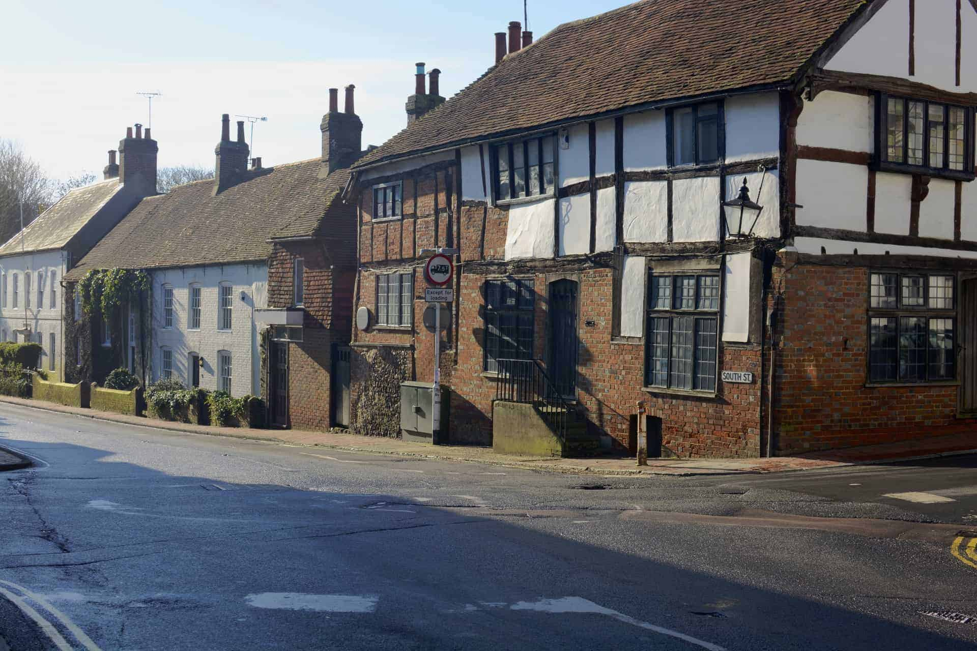 Cottages in Ditchling