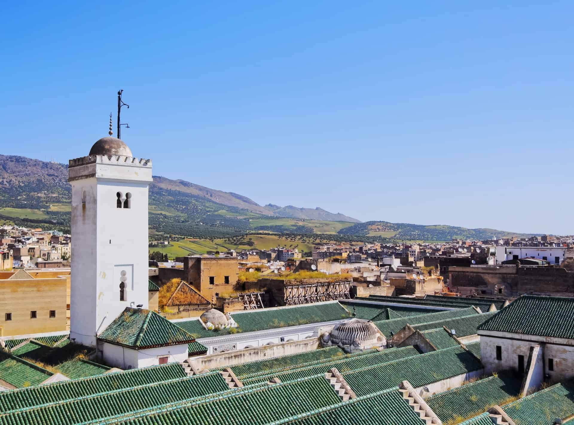 morocco, Qarawiyyin Mosque, fez